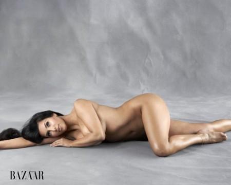 kim kardashian Kim Kardashian Nude… Butt Booty Naked In Bazaar [PHOTO]